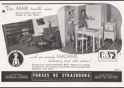Publicité forges de Strasbourg