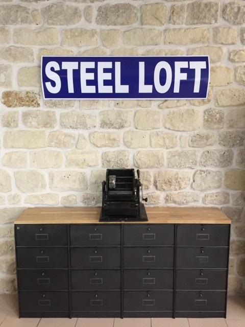 Nos Meubles Industriels A Clapets Steel Loft Paris